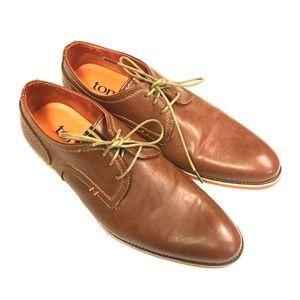 Tony's Men's Casual Plain Toe Oxford Size 9